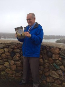 Bill reading Running from a Crazy Man from Scargo Tower in MA