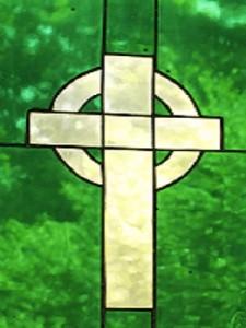 cropped celtic cross